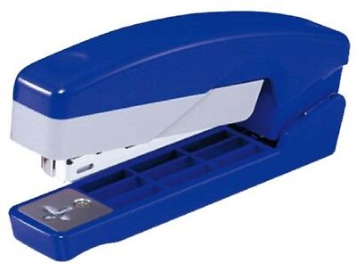 Max Hd-10v Flexible Swivel Booklet Stapler Free 2000 Staples Blue