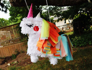 Custom made pinatas, all homemade and as requested