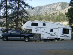 F350 Diesel and Titanium Fifth Wheel - Perfectly Matched