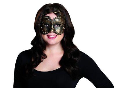 Rub - Venezianische Augenmaske Venezianer Domino Maske zu Kostüm - Venezianische Kostüm Zu