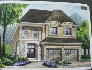 Assignment sale -  Medallion home under construction - whitby