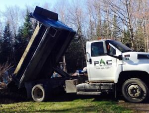 GMC C6500 Dump Truck for Sale with Salt or sander