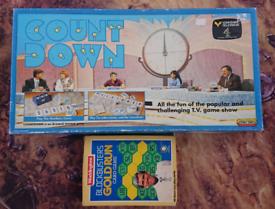 Countdown and Blockbuster nostalgia boardgames