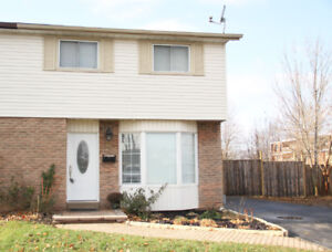 Gorgeous North End St Catharines Semi-Detached For Rent.