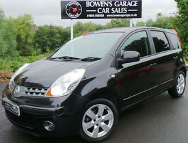2008 NISSAN NOTE 1.4 ACENTA R - 2 LADY OWNERS - LOW MILES - S/HISTORY