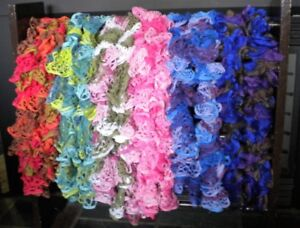 **REDUCED**Hand knit scarves