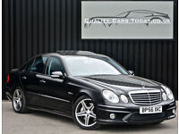Mercedes E Class E63 AMG 6.2 7G-Tronic Obsidian Black+Sunroof+H.Spec