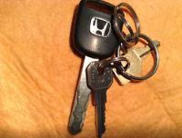 clé trouvées