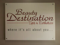 Daily room rental available in Beauty Spa in downtown Burlington