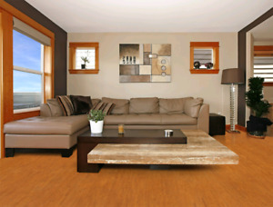 Treat Yourself to Cork Flooring! Comfortable to Walk, Sound