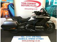 HONDA GL1800 GOLDWING BAGGER, 2019(19), ONLY 579 MILES, FSH, PERFECT, £17,995
