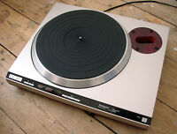 Turntable, TECHNICS SL-150 MkII Silver with Rosewood trim