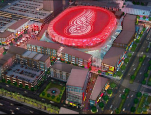 RED WINGS - NEW ARENA.  SHARE SEASON TICKETS