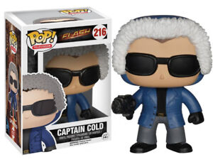 Funko POP TV: The Flash Captain Cold Action Figure (sealed)
