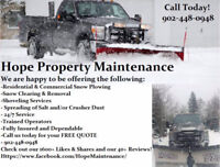 Snow clearing services for this coming winter