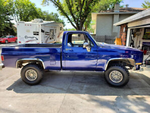 1981 K10 4x4 Fresh Paint, Turns heads