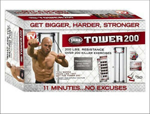 TOWER 200 Resistance Trainer (Fits onto any door)