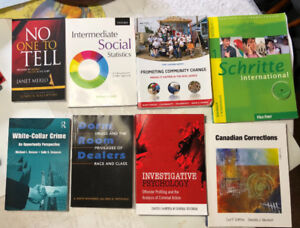 Criminology and Justice assortment of textbooks