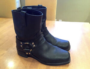 Frye Harness 8R Boot Mens Black Size 10 Like New