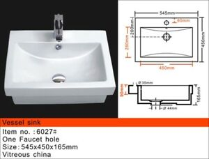 High end Ceramic Vessel Sink on sale for $69!!!