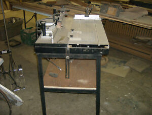 MS-R Sliding Router Table