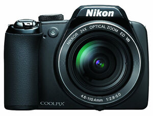 Nikon Coolpix P90 12.1MP Digital Camera with 24x and 3 inch Tilt