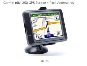 GPS Garmin nüvi série 250 W excellente condition