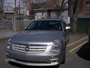 2005 Cadillac STS cuir gris Berline
