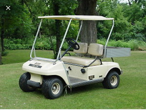 Wanted: Older Golf Cart
