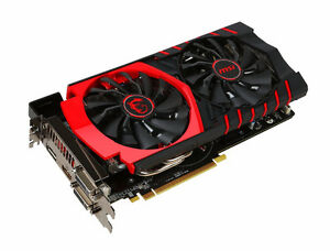 MSI r9 380 gaming 4GB avec backplate comme neuve