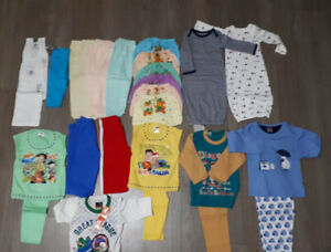 Baby clothes all are new 0 to 2 years