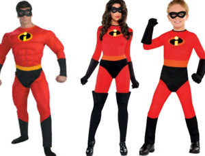 Lot of 3 - The Incredibles Halloween Costumes