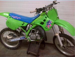 Kawasaki KX 125 Dirt Bike - Real Nice