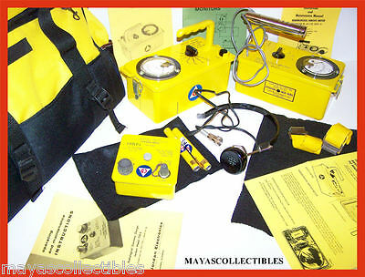 Cdv-700 Cdv-715 Geiger Counter Radiation 8 Pcs Kit Works Great Gift Idea
