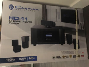 Cayman Media Labs Home Theatre System