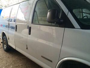 Parting Out GMC Savana Chevrolet Express 2003-2014 Cargo Van,