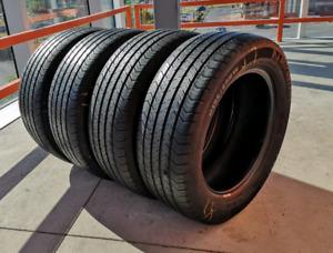 Set of four 195/60/15 Michelin all season tires
