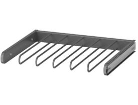 IKEA KOMPLEMENT Pull Out Trouser Hanger~Organiser Grey NEW