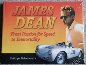 James Dean: From Passion for Speed to Immortality. Car/movie book.