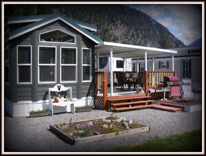 Park Home With Lot And River View In Okanagan BC Area