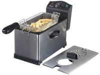 Swan 3 Litre Stainless Steel Fryer (BRAND NEW)