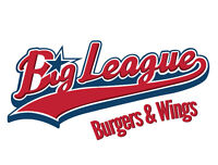 Big league Burgers And Wings is Hiring