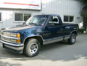 1996 Chevrolet Silverado 1500 Step Side  Truck