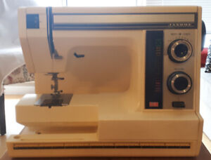 Vintage Janome SW 2018E Sewing Machine