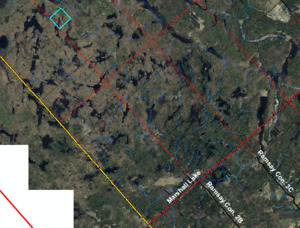 Land lock land for sale in Mississippimills