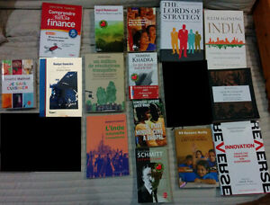 Books $5 each and travel guides $1 each