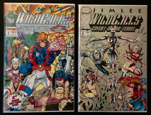 Jim Lee's  Wild C.A.T.S Covert Action Team  #1 - 4