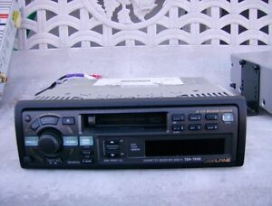 CAR RADIO WITH CASSETTE