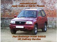 2001 X SUZUKI GRAND VITARA 1.6 GV1600 3D 92 BHP