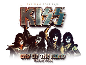 2-8 KISS End of the Road Tickets - August 20 - S109 R25 + R28